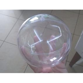 f1c8286060 50 Esfera Bola Acrilica Transparente 12cm Lembrancinha Natal