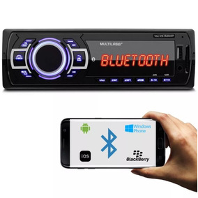 Auto Rádio Automotivo Mp3 Usb New One Multilaser Bluetooth