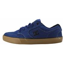 Tênis Dc Shoes Masculino Feminino Original Skate Azul Escuro