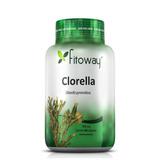 Clorella 400mg Algas Marinhas - Fitoway - 60 Cápsulas