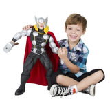 Boneco Thor Gigante Premium Marvel 55 Cm Articulado Mimo