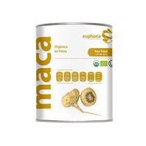 Maca Orgánica Certificada, Cruda En Polvo, 500 Gr