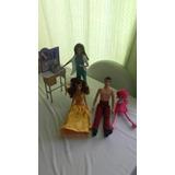 Muñecas Barbie , Ken Y Pony.hermosos