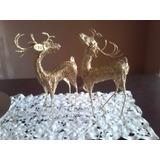 Reno Decorativo Dorado / Navidad / Hogar / Muebles