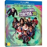Esquadrao Suicida (blu-ray 3d)