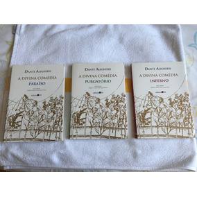 A Divina Comédia Dante Aleghieri Edição Bilíngue 3 Volumes