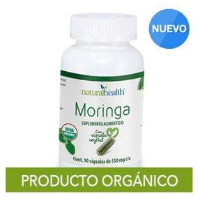 Natural Health Moringa 90 Cápsulas