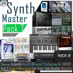 Pack Serum Arturia 6 Sylenth Kick2 Massive Vst Roland Synth7