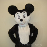 Roupa De Fantasia De Mascote Mickey Pelúcia Adulto