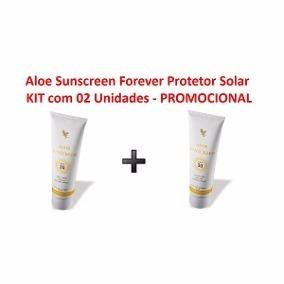 Sunscreen Protetor Solar Forever Living - Kit Com 2