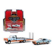 1967 Chevrolet C30 & Camaro Gulf Greenlight Hd Trucks