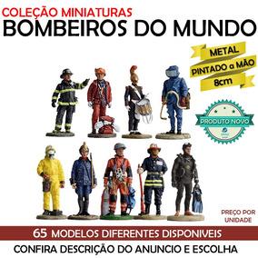 Bombeiros Do Mundo Coleção Delprado Miniatura Metal
