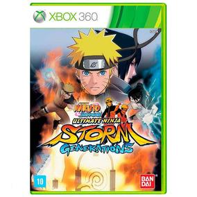 Naruto Shipudden Ninja Storm Generations Xbox360 Midia Físic
