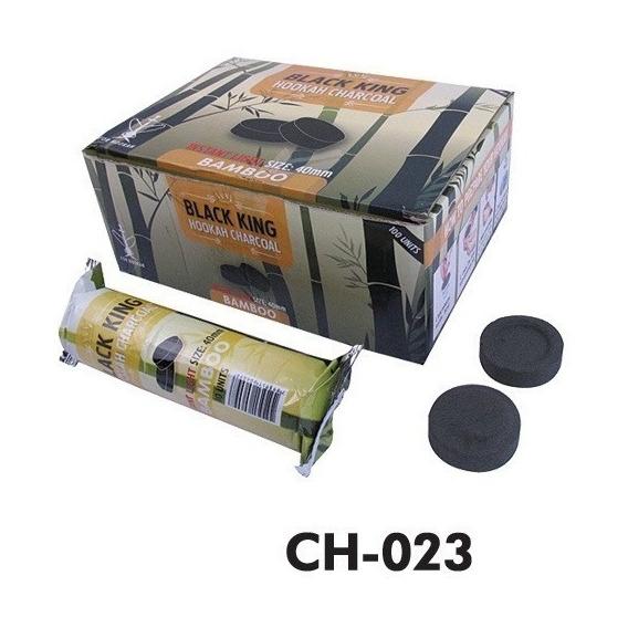 Carbón Para Narguile/hookah/shisha/ Bambú Black King /