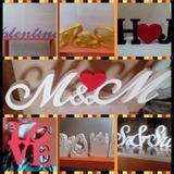 Letras Y Figuras En Mdf!!