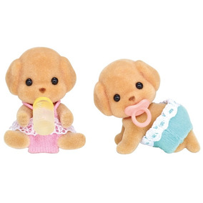 Sylvanian Families Gemeos Poodle Toy Epoch Magia
