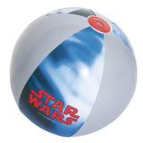 Pelota De Playa 2+ Años Star Wars Gris C/azul 61cm/691204