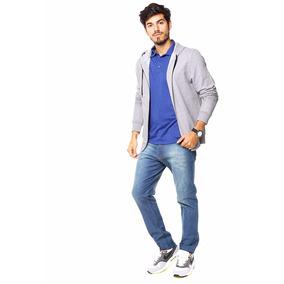 Chelsea Market Jeans Hombre Pantalones Chupín Recto Blue