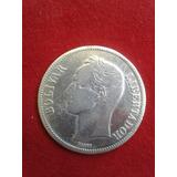 Moneda Fuerte De Plata Año 1936