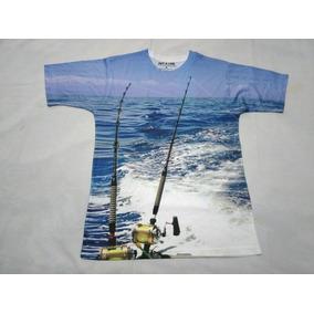 Remera Pesca De Mar