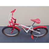 Bicicleta Caloi Hello Kitty Aro 20