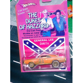 Hot Wheels Dukes De Hazzard General Lee Dirty Dod Charger 69
