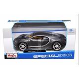 Nueva 1:24 W / B Edición Especial - Gris Bugatti Chiron Diec