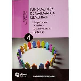Fundamentos De Matemática Elementar Vol. 4 Novo 8ª Edição