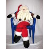 Muñecos Navideños, Pareja Noeles, Papa Noel Patas Largas.