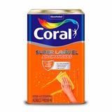 Tinta Acrílica Super Lavável Coral Branco Minimalista 16 L