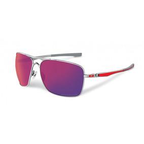 Oculos Oakley Gascan 26-244 Polarizado Preto Fosco Ice Iridi. 5 · Oculos  Oakley Plaintiff Squared Oo4063-07 Chrome Red Iridium 727305b50d