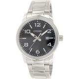 Reloj Citizen Para Hombre Bi1020-57ePlateado En Acero 3e4a1e8e6f55