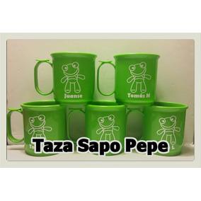 Tazas Plásticas Sapo Pepe
