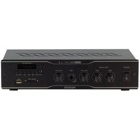 Amplificador Co,m Usb E Fm Slim 1000 Usb Fm Frahm 30w Oferta