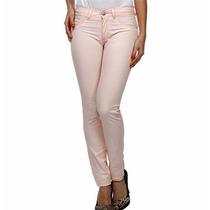 Calça Modelo Skinny Color Feminina Sarja