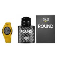 Relógio Unissex Everlast E415 + Perfume Round Everlast 50 Ml
