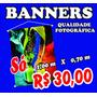 Banner - Fotográfico - Propaganda - Eventos - Alta Qualidade