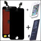Tela Touch Iphone 5 5g 5s 5c Display Bateria Pelicula Vidro