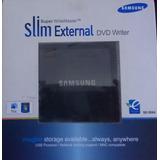 Gravador De Dvd Externo Usb Samsung Slim - Modelo: Se-s084c