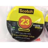 Fita Autofusão 3m Scotch 23br - Preta - 19mm X 10m