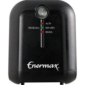 Estabilizador Enermax Exs Ii Power 500va - Bivolt - Preto