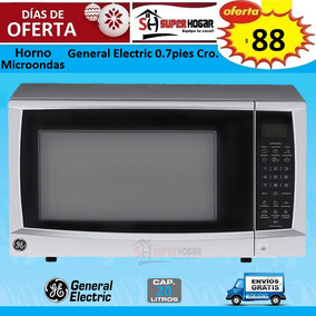 Horno Microondas General Electric 0.7 Pies 20 L Crom Jes70se