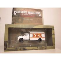Coleção Caminhões Brasileiros Chevrolet Balas Kid