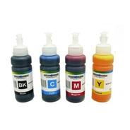 Pack 4 Tintas Universal 100 Ml Para Epson Hp Canon Lexmark