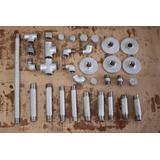 Kit Diego Com Tubos E Conexões Aço Galvanizado De 3/4 E 1/2