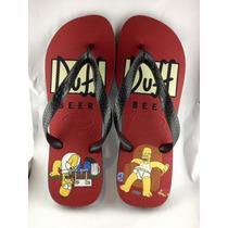 Chinelo Havaianas Personalizado - Homer Simpsons Duff