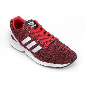 new style 34d4a 99251 Zapatillas adidas Original Zx Flux Rojo Bco Hombre