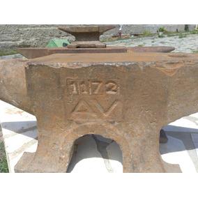 Bigorna Antiga Av 1172 De 40 Kilos Rara Unica A Venda