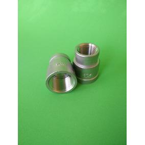 Reducción Campana Acero Inoxidable T304 150 Lbs De 3/4 A 1/2