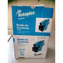 Bomba Circulación De Agua Rotoplas 1/6 Cp